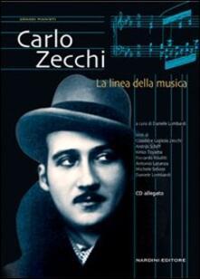 Carlo Zecchi. La linea della musica - copertina