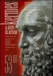 Kermes. La rivista del restauro. Vol. 53 - copertina