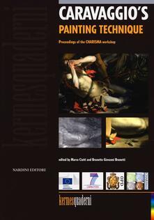 Caravaggio's painting technique - copertina