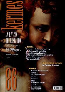 Kermes. La rivista del restauro. Vol. 86 - copertina
