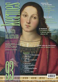 Kermes. La rivista del restauro. Vol. 93 - copertina