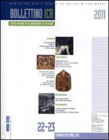 Bollettino ICR vol. 22-23 - copertina