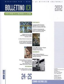 Bollettino ICR vol. 24-25 - copertina