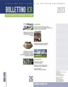 Bollettino ICR. Vol. 26 - copertina