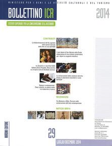 Bollettino ICR. Vol. 29 - copertina
