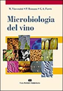 Microbiologia del vino - Massimo Vincenzini - copertina