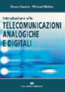 Introduzione alle telecomunicazioni analogiche e digitali - Simon Haykin,Michael Moher - copertina