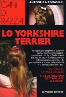 Lo yorkshire terrier - Antonella Tomaselli - copertina