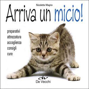 Foto Cover di Arriva un micio! Preparativi, attrezzatura, accoglienza, consigli, cure, Libro di Nicoletta Magno, edito da De Vecchi 0
