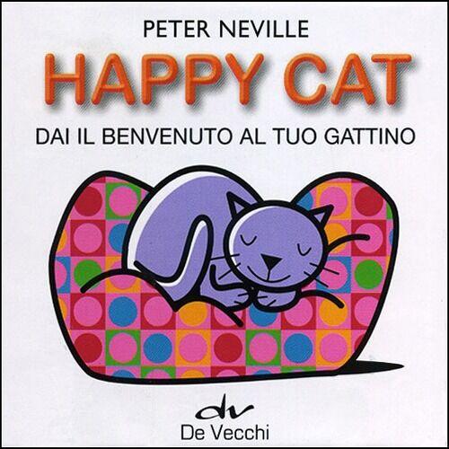 Happy cat. Dai il benvenuto al tuo gattino. Con gadget