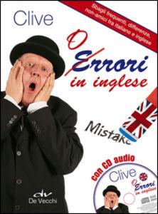 Foto Cover di Orrori in inglese. Con CD Audio, Libro di Clive M. Griffiths, edito da De Vecchi