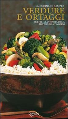 Verdure e ortaggi - copertina