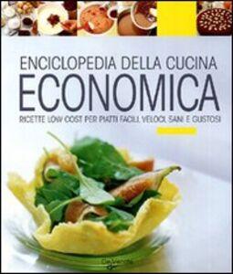 Libro Enciclopedia della cucina economica