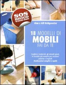 Diciotto modelli di mobili fai da te - copertina