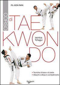 Corso di tae kwon do. Tecnica tchagui