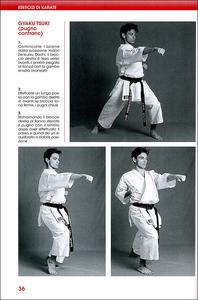 Libro Esercizi di karate. Le posizioni, gli spostamenti, le tecniche fondamentali, il combattimento, i kata Stefano Di Marino , Roberto Ghetti 1