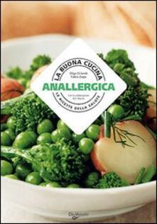 La buona cucina anallergica - Olga Orlandi - copertina