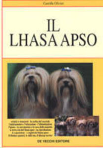 Foto Cover di Il lhasa apso, Libro di Camille Olivier, edito da De Vecchi