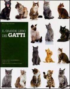 Foto Cover di Il grande libro dei gatti, Libro di Milena Band Brunetti, edito da De Vecchi