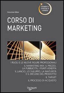 Corso di marketing - Cinzia Ameri Molzer - copertina