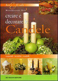 Creare e decorare le candele