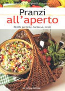 Pranzi all'aperto. Ricette per feste, barbecue, picnic - Laura Landra,Margherita Landra - copertina
