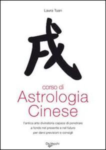 Libro Corso di astrologia cinese Laura Tuan
