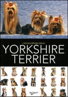 L' enciclopedia dello yorkshire terrier - copertina