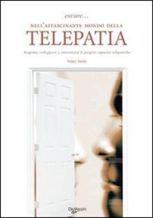 Entrare... nell'affascinante mondo della telepatia - copertina