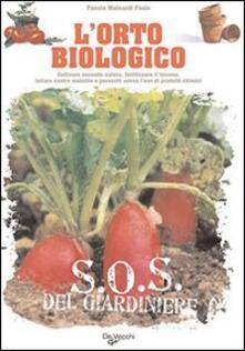 L' orto biologico - Fausta Mainardi Fazio - copertina