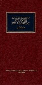 Calendario atlante De Agostini 1999
