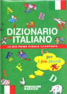 Dizionario di italiano per i più piccoli - copertina