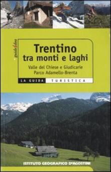 Trentino tra monti e laghi. Valle del Chiese e Giudicarie, Parco Adamello-Brenta - Federico Lacche - copertina