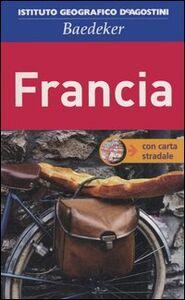 Foto Cover di Francia. Con carta stradale 1:750.000, Libro di  edito da De Agostini