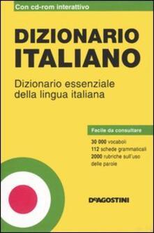 Ipabsantonioabatetrino.it Dizionario italiano. Dizionario essenziale della lingua italiana. Con CD-ROM Image