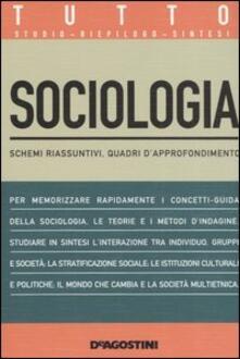 Squillogame.it Tutto sociologia. Schemi riassuntivi, quadri d'approfondimento Image