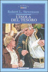 Foto Cover di L' isola del tesoro, Libro di Robert L. Stevenson, edito da De Agostini