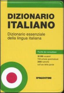 Promoartpalermo.it Dizionario italiano. Dizionario essenziale della lingua italiana Image