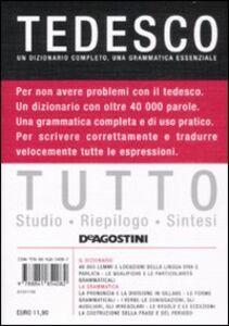 Foto Cover di Tutto tedesco, Libro di  edito da De Agostini