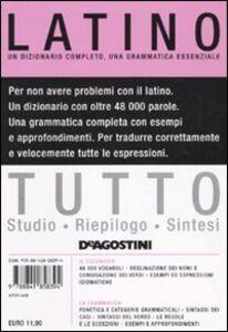Foto Cover di Tutto latino, Libro di  edito da De Agostini