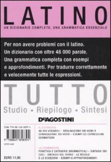Warholgenova.it Tutto latino. Un dizionario completo, una grammatica essenziale Image