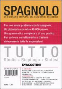 Foto Cover di Tutto spagnolo, Libro di  edito da De Agostini
