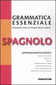 Grammatica essenziale. Spagnolo - copertina