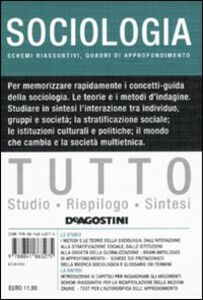 Libro Tutto sociologia Lucia De Martis