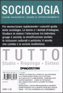 Tutto sociologia - Lucia De Martis - copertina