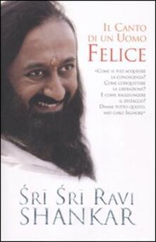 Il canto di un uomo felice - Ravi Shankar - copertina
