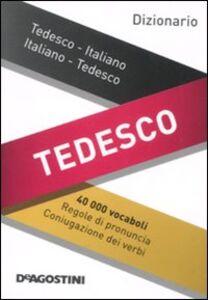 Foto Cover di Dizionario tedesco. Tedesco-italiano, italiano-tedesco, Libro di  edito da De Agostini