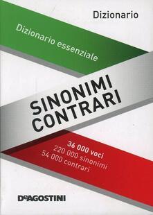 Sinonimi e contrari. Dizionario essenziale.pdf