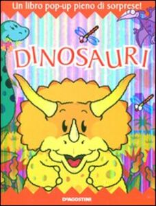 Libro Dinosauri. Libro pop-up Derek Matthews