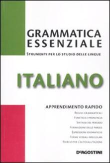 Vitalitart.it Grammatica essenziale. Italiano Image